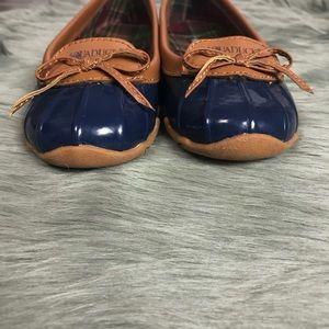 cd807e3b1ec9 Aquaduck Shoes - Aquaduck Blue Sail Duck Shoe Waterproof Flats 6.5